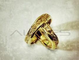 Fedi Nuziali Scoglio oro giallo