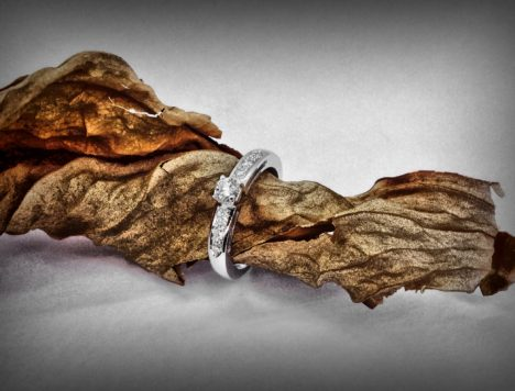 Solitario classic sette diamanti