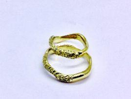 Fedi Worms halcurved oro giallo